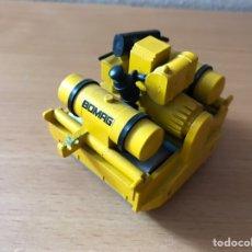 Modelos a escala: PRECIOSO RODILLO COMPACTADOR BOMAG BW 90 S NZG 1:20. Lote 159323765