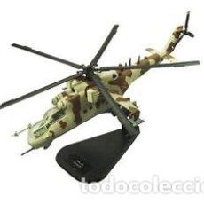 Modelos a escala: PRECIOSO HELICÓPTERO DE COMBATE MI-24 ITALERI 1:100. Lote 159397521