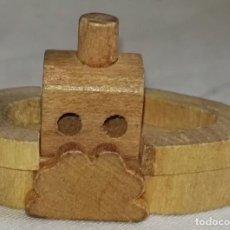 Modelos a escala - Barco En Miniatura De Madera - 3,5cm - 160486130