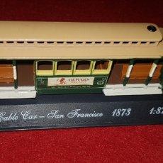 Modelos a escala: CABLE CAR SAN 1873 ESCALA 1/87. Lote 161272318