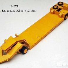 Modelos a escala: CONRAD REF 011 TRAILER TRANSPORTES ESPECIALES SCHMINT CARGOBULL / LE FALTAN PIEZAS. Lote 98214635