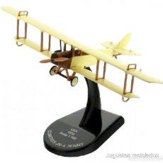 Modelos a escala: CURTISS JN-4 JENNY USA 1916 1:100 AVION BIPLANO ALTAYA DIECAST. Lote 164709193