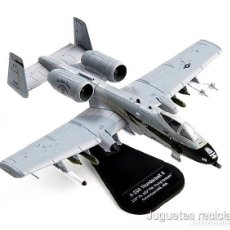 Modelos a escala: A-10A THUNDERBOLT II FLYING YANKEES USA 1:100 AVION DIECAST ITALERI. Lote 164709197