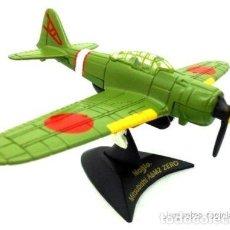 Modelos a escala: 1/72 MITSUBISHI A6M2 ZERO MAISTO DIECAST AVION WWII JAPON. Lote 164709201