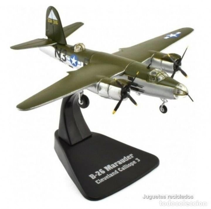 B-26 MARAUDER CLEVELAND CALLIOPE 3 1:144 AVION PLANE GIGANTES DEL CIELO ATLAS (Juguetes - Modelos a escala)