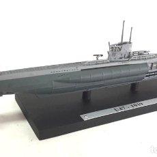 Modelos a escala: U47 SUBMARINO ALEMANIA WWII 1:1350 IXO ATLAS DIECAST. Lote 171273560