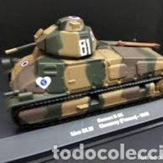 Modelos a escala: TANQUE SOMUA S 35 1940 SEGUNDA GUERRA MUNDIAL DIE CAST. Lote 165637876