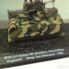 Modelos a escala: M163 A1 VULCAN 2ND ARTILLERY DONG TAM VIETNAM 1:72 TANQUE ALTAYA DIECAST. Lote 165915948