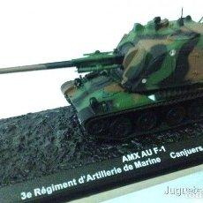Modelos a escala: AMX AU F-1 REGIMIENTO ARTILLERIA DE MARINA FRANCIA 1:72 TANQUE ALTAYA DIECAST. Lote 165915980
