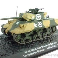 Modelos a escala: M-10 TANK NATALLON DESTRUCTOR DE TANQUES ITALIA WWII 1:72 TANQUE ALTAYA DIECAST. Lote 165915996