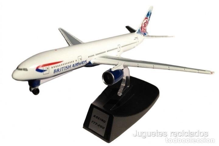 BOEING 777-200 BRITISH AIRWAYS 1:500 AVION COMERCIAL IXO ALTAYA (Juguetes - Modelos a escala)