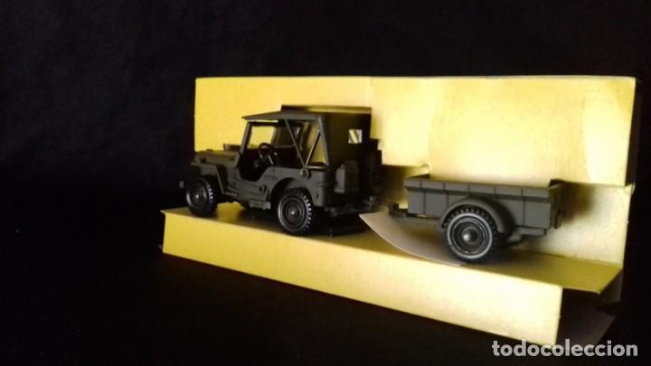 Modelos a escala: Jeep Willis avec remolque - Foto 3 - 166995112