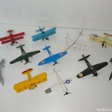 Modelos a escala: 11 AVIONES MUY RAROS PLAYME. Lote 167758837