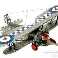 Modelos a escala: BRISTOL BULLDOG, UK, 1927 1:72 AVION BIPLANO ALTAYA DIECAST. Lote 187128003