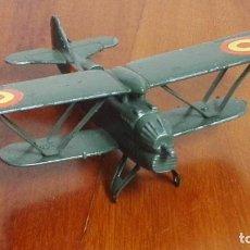 Modelos em escala: AVION DE METAL PLAYME.FIAT CR-32- CHIRRI. REF. 122. Lote 169294796