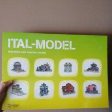 Modelos a escala: MAQUETAS DE EDIFICIOS ITALIANOS PARA MONTAR. NUEVO.. Lote 169645966