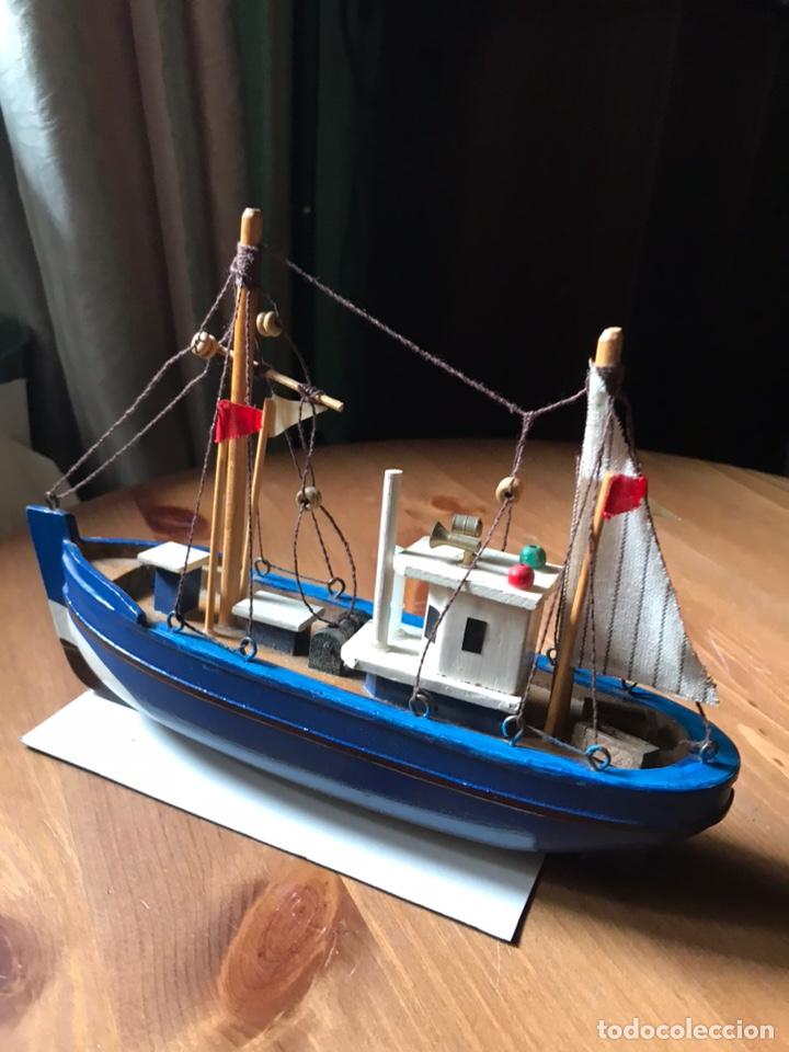 Modelos a escala: Barco de pesca , maqueta - Foto 3 - 169968816