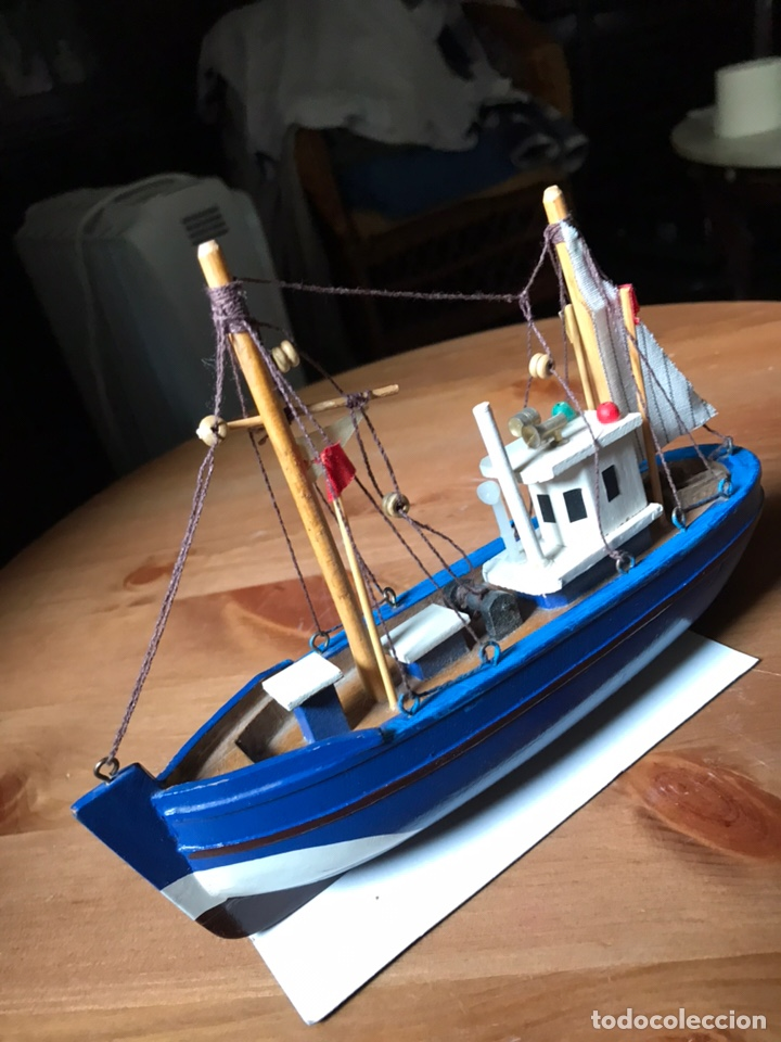 Modelos a escala: Barco de pesca , maqueta - Foto 6 - 169968816