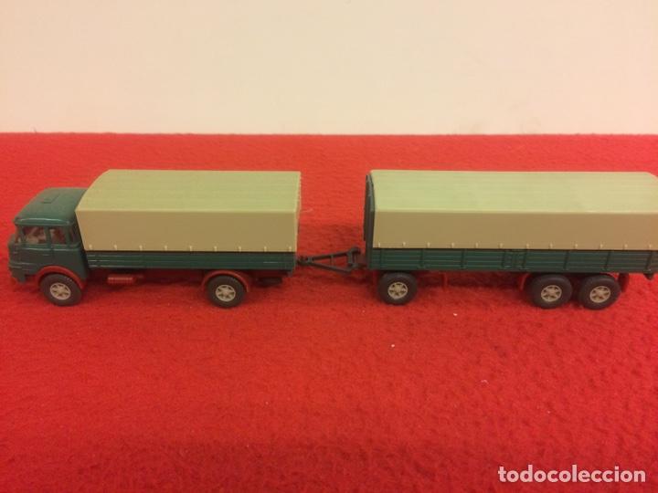 Modelos a escala: Camión con remolque krupp. Wiking - Foto 2 - 171191539
