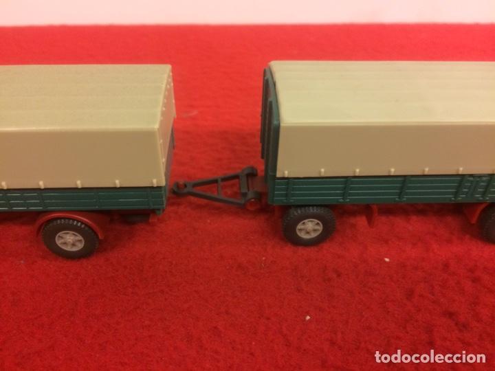 Modelos a escala: Camión con remolque krupp. Wiking - Foto 3 - 171191539