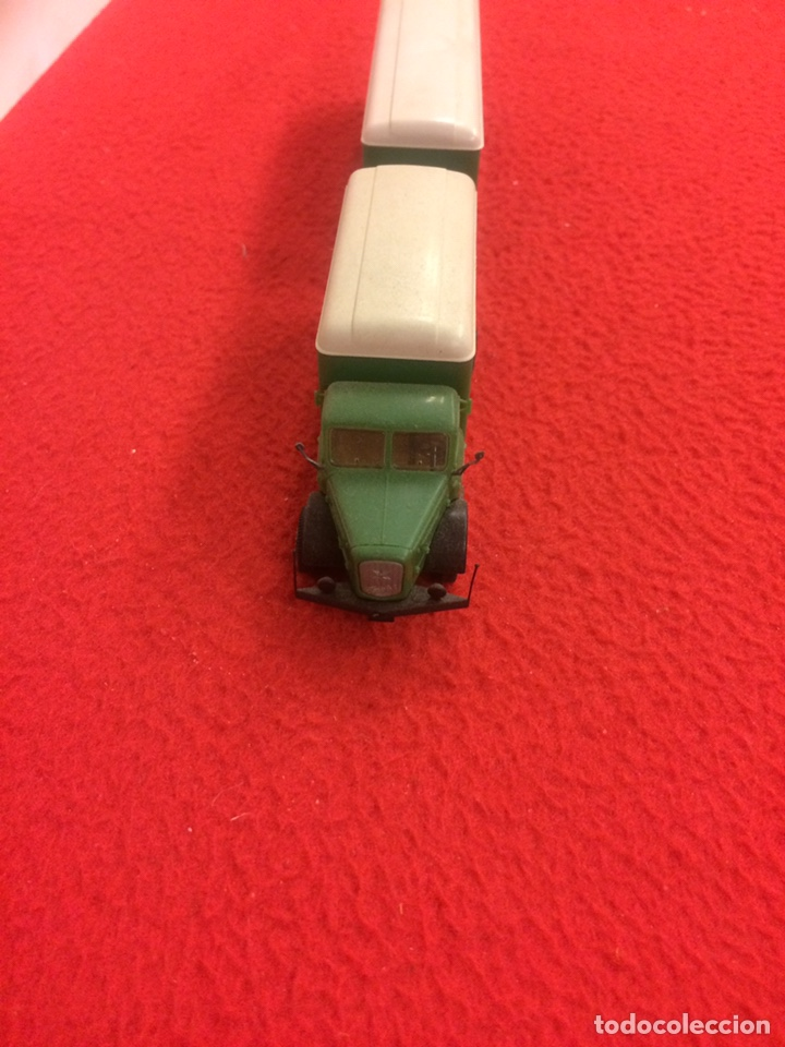 Modelos a escala: Camión con remolque krupp. Wiking - Foto 5 - 171191539