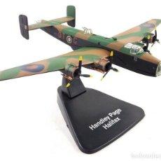 Modelos a escala: HANDLEY PAGE HALIFAX 1:144 AVIÓN PLANE BOMBARDEROS WWII ATLAS. Lote 171688175