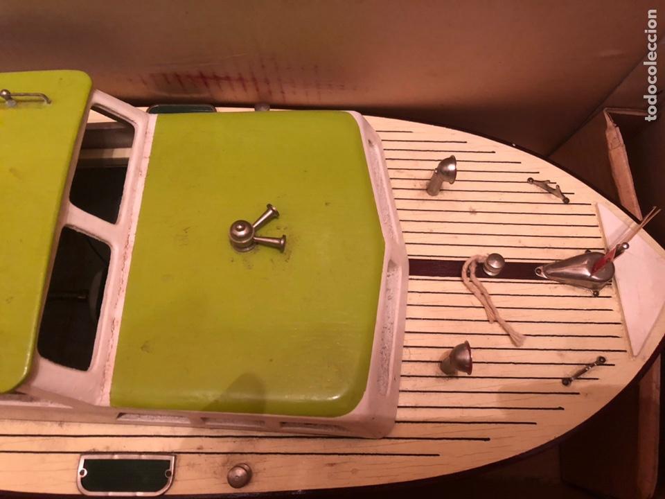 Modelos a escala: Lancha de madera vintage - Foto 4 - 172001812