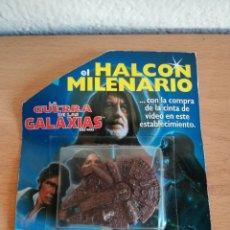 Modelos a escala: EL HALCÓN MILENARIO LA GUERRA DE LAS GALAXIAS PRECINTADO PROMOCIÓN COMPRA CINTA VIDEO 1995 STAR WARS. Lote 174009904