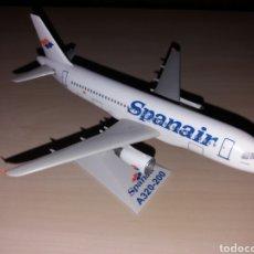 Modelos a escala: SPANAIR A320-200. Lote 175267575