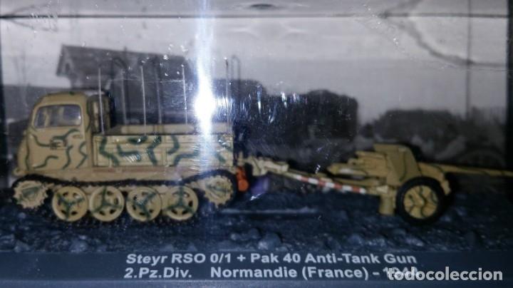 STEYR RSO.0/1+PAK40 ANTI TANK GUN,DESCATALOGADO. (Juguetes - Modelos a escala)