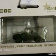 Modelos a escala: GELANDEWAGEN WOLF FELDJAGER BUNDESWERH,MARKLIN 18501,DESCATALOGADO.. Lote 175661543