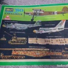 Modelos a escala: CATALOGO MAQUETAS HASEGAWA 1980. Lote 176378797