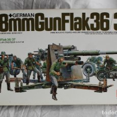Modelos a escala: GERMAN 88 MM GUN FLAK 36/37 TAMIYA 1/35. Lote 176644222