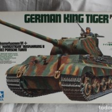 Modelos a escala: GERMAN KING TIGER PORSCHE TURRET TAMIYA 1/35. Lote 176644315
