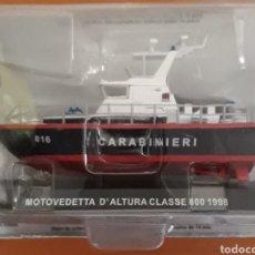 Modelos a escala: LANCHA MOTOVEDETTA D'ALTURA CLASSE 800 CARABINIERI 1998. Lote 176674815