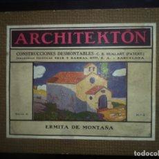 Modelli in scala: ARCHITEKTON.ERMITA DE MONTAÑA.PERFECTO ESTADO Y COMPLETO EN SU CAJA SEIX Y BARRAL SERIE A. Lote 177791149