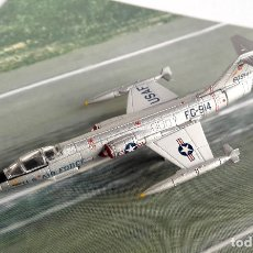 Modelos a escala: HERPA WINGS 1:200 • USAF LOCKHEED F-104C 479 TACTICAL FIGHTER WING • METÁLICO 1/200. Lote 178154617