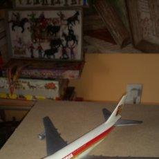 Modelos a escala: MAQUETA AVIÓN DE IBERIA EN PLÁSTICO. BOEING 747.JUMBO.. Lote 178320695