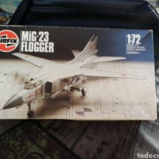 Modelos a escala: AIRFIX MIG-23 FLOGGER ESCALA 1/72 ORIGINAL DE ÉPOCA. Lote 178590705