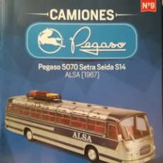 Modelos a escala: PEGASO 5070 SETRA SEIDA DE ALSA. Lote 179082472