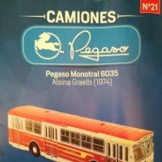Modelos a escala: AUTOBÚS PEGASO MONOTRAL 6035 ALSINA GRAELLS. Lote 179082726