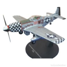 Modelos a escala: NORTH AMERICAN P-51D MUSTANG USA WWII 1:72 AVION DIECAST ALTAYA. Lote 181588907