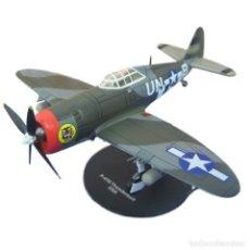 Modelos a escala: REPUBLIC P-47D THUNDERBOLT USA WWII 1:72 AVION DIECAST ALTAYA. Lote 181588930