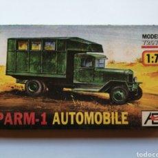 Modelos a escala: KIT MODELISMO MAQUETA DIORAMA CAMIÓN PARM-1 AUTOMOBILE. Lote 182076138