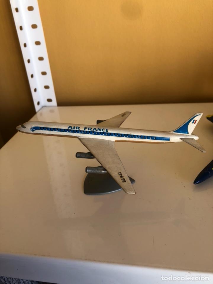 Modelos a escala: Lote de 6 aviones de juguete, distintos materiales y épocas - Foto 2 - 182759877