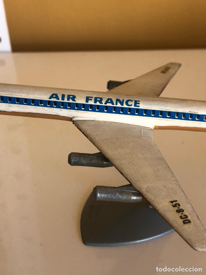 Modelos a escala: Lote de 6 aviones de juguete, distintos materiales y épocas - Foto 3 - 182759877