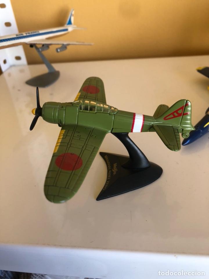 Modelos a escala: Lote de 6 aviones de juguete, distintos materiales y épocas - Foto 5 - 182759877