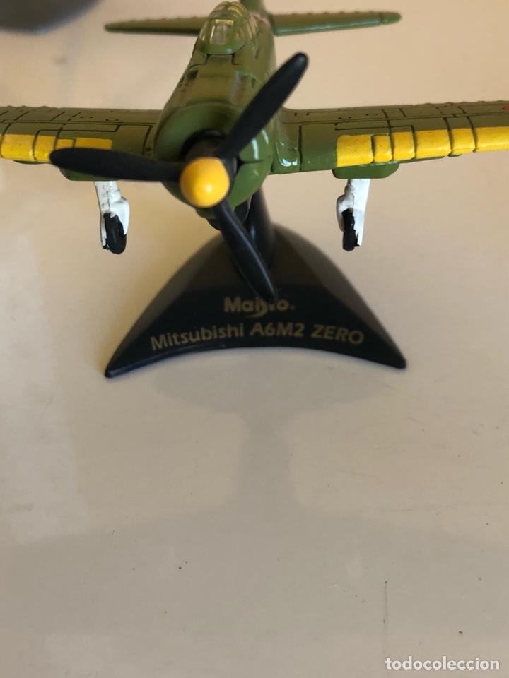 Modelos a escala: Lote de 6 aviones de juguete, distintos materiales y épocas - Foto 7 - 182759877