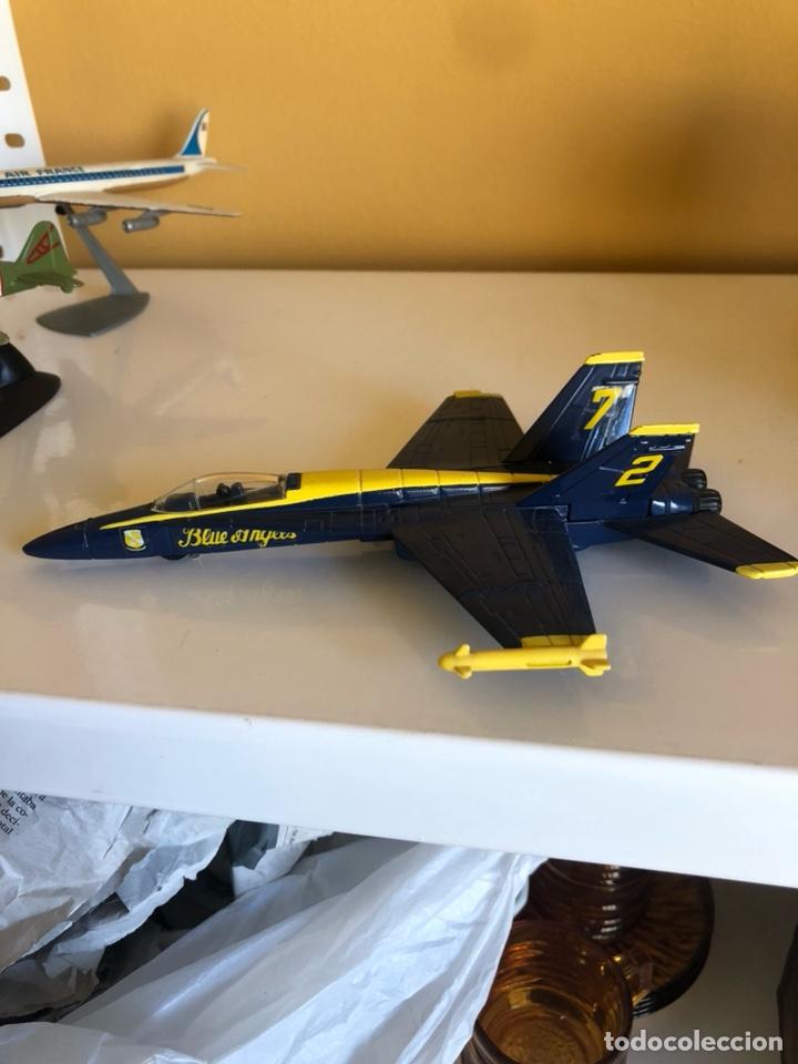 Modelos a escala: Lote de 6 aviones de juguete, distintos materiales y épocas - Foto 8 - 182759877