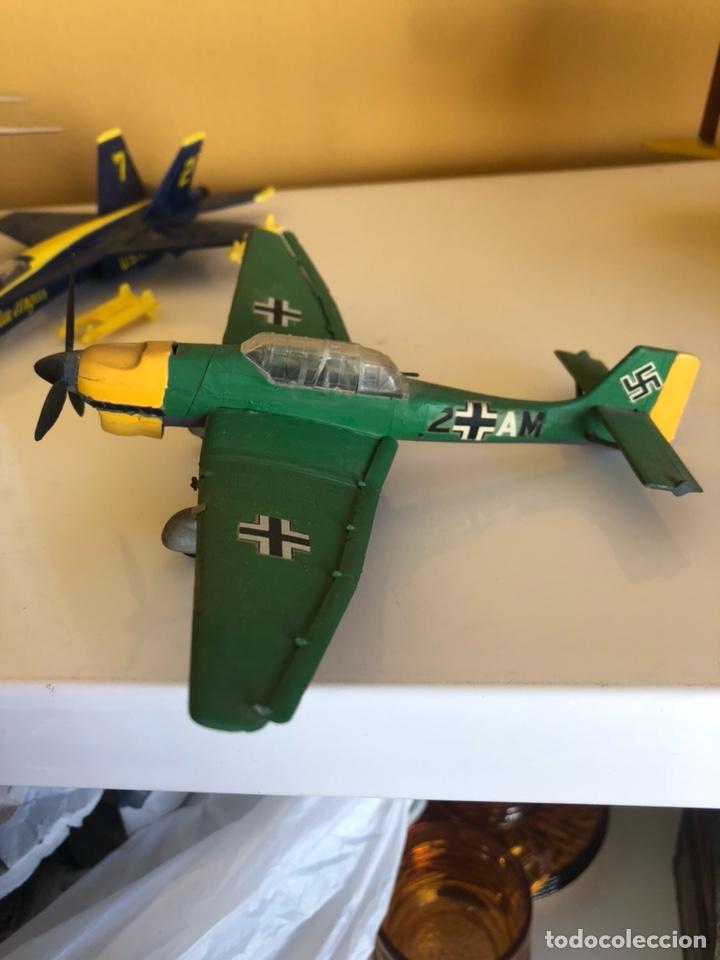 Modelos a escala: Lote de 6 aviones de juguete, distintos materiales y épocas - Foto 11 - 182759877